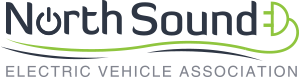 North Sound Electric Vehicle Association (Logo)