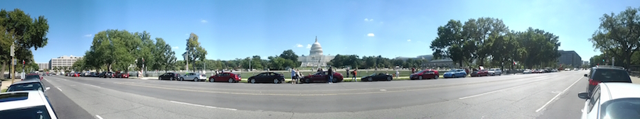 panorama, capitol, washington DC